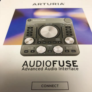 ARTURIA audiofuse オーディオインターフェース(オーディオインターフェイス)