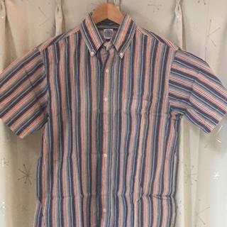 ジェイプレス(J.PRESS)の半袖シャツ jpress ジェイプレス サイズM チェック フォーマル(シャツ)