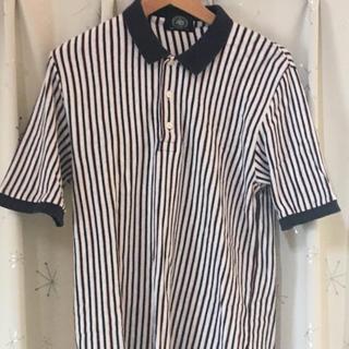 ジェイプレス(J.PRESS)の半袖 ポロシャツ jpress ジェイプレス サイズM チェック ストライプ(ポロシャツ)