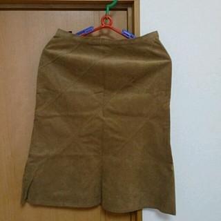 ユニクロ(UNIQLO)のユニクロのスカート(ひざ丈スカート)