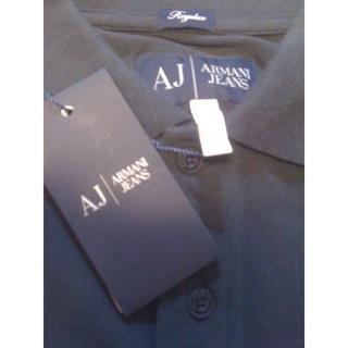 アルマーニジーンズ(ARMANI JEANS)の☆新品 ARMANI JEANS A&J イーグル刺繍 半袖ポロ ☆(ポロシャツ)