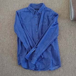 レイジブルー(RAGEBLUE)のレイジブルー 長袖 ボタンダウンシャツ ブルー L(シャツ)