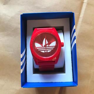 アディダス(adidas)のアディダス時計 赤(腕時計)