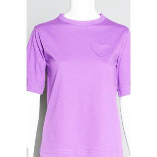 ミュベールワーク(MUVEIL WORK)のMUVEIL WORK ミュベールワーク 2018SS ハートパッチTシャツ(Tシャツ(半袖/袖なし))