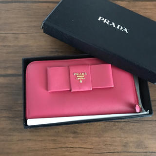 PRADA - プラダ ピンクのお財布
