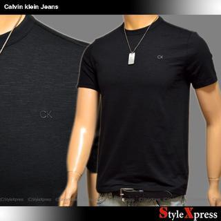 カルバンクライン(Calvin Klein)の新品 カルバンクラインジーンズ 黒 XS S L XL CKロゴ Tシャツ(Tシャツ/カットソー(半袖/袖なし))