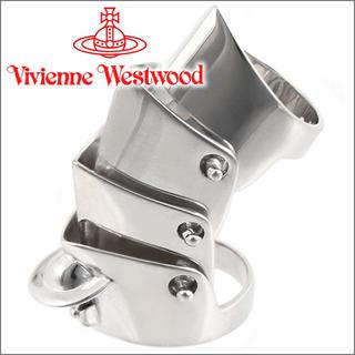 ヴィヴィアンウエストウッド(Vivienne Westwood)のヴィヴィアンウエストウッド アーマーリング リング シルバー 秋元梢 ロック(リング(指輪))