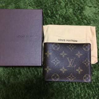 ルイヴィトン(LOUIS VUITTON)の未使用 パスケース付きルイヴィトン折財布(折り財布)