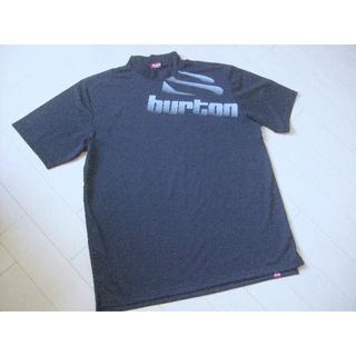 バートン(BURTON)のバートン ゴルフ メンズ  ハイネックシャツ 半袖★黒(ウエア)