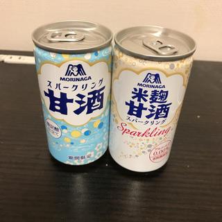 モリナガセイカ(森永製菓)の甘酒 スパークリビング(その他)