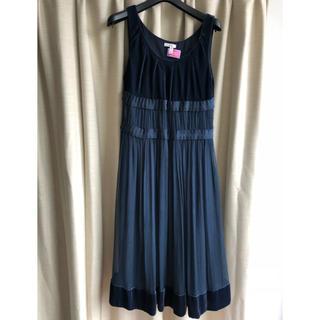 キャシャレル(cacharel)のCACHAREL ドレス(ミディアムドレス)