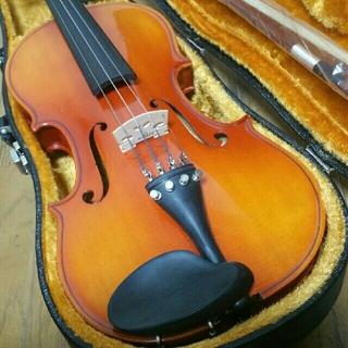 高級 国産 バイオリン 鈴木 No.280 証明ラベル有、弓ケースセット 8万円(ヴァイオリン)