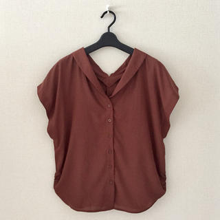 バビロン(BABYLONE)のsaloon♡ゆったりシャツ(シャツ/ブラウス(半袖/袖なし))