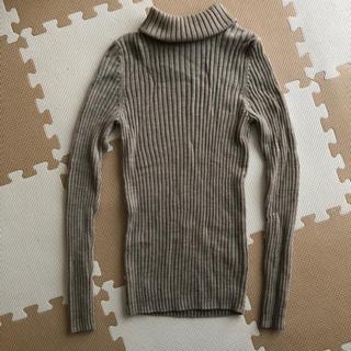ムジルシリョウヒン(MUJI (無印良品))の首がチクチクしないタートルネック(ニット/セーター)