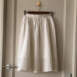 マカフィー(MACPHEE)のマカフィー ☆フレアースカート(ひざ丈スカート)