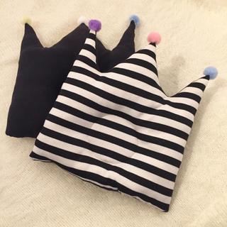 【baby crown pillow】ベビーピロー まくら クラウン 王冠(枕)