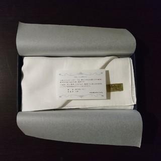 帝国繊維 リネン ハンカチ 日本製(ハンカチ/ポケットチーフ)