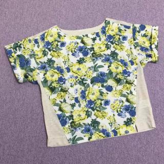 バビロン(BABYLONE)のバビロン BABYLONE*花柄Tシャツ(Tシャツ(半袖/袖なし))
