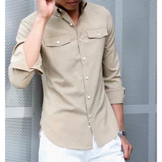 エイケイエム(AKM)の新品42120円 1 piu 1 uguale 3 BDストレッチドレスシャツ(シャツ)
