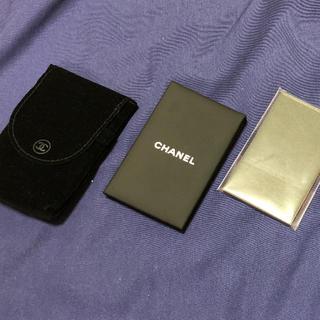 シャネル(CHANEL)のCHANEL シャネル あぶらとり紙(その他)