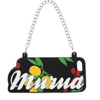 ムルーア(MURUA)の新品 MURUA ロゴ i phone 7plus 定価4,300円 大特価‼️(iPhoneケース)