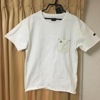 ショット(schott)のSCHOTT ヘビーオンス レザーポケットTシャツ(Tシャツ/カットソー(半袖/袖なし))