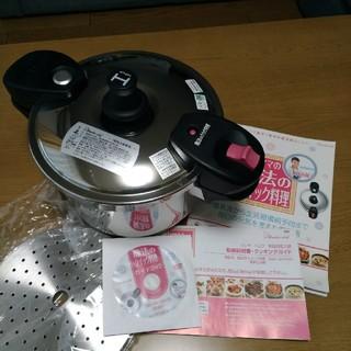 ワンダーシェフ(ワンダーシェフ)のワンダーシェフ 魔法のクイック料理 5.5L 圧力鍋(調理道具/製菓道具)
