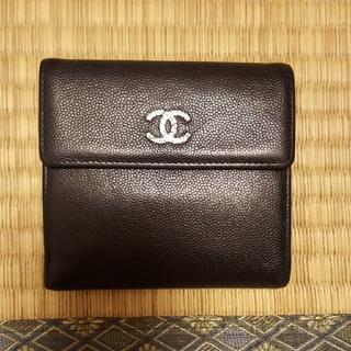 シャネル(CHANEL)の正規品CHANEL折り財布(財布)