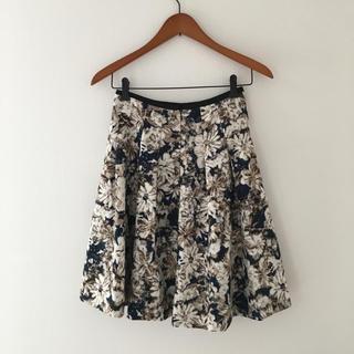 デミルクスビームス(Demi-Luxe BEAMS)の花柄 スカート デミルクスビームス(ひざ丈スカート)