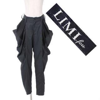 リミフゥ(LIMI feu)のLIMI feu 異素材切替 パンツ sizeS グレー ブラック リミフゥ(カジュアルパンツ)