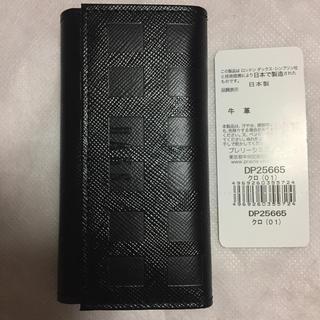 ダックス(DAKS)の新品未使用 ダックス キーケース 黒色 革製(キーケース)