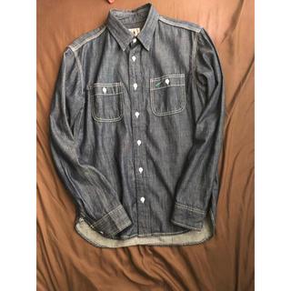 タケオキクチ(TAKEO KIKUCHI)の新品 定価1万 TK デニムシャツ Mサイズ(シャツ)