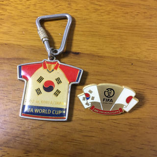 2002 FIFA WORLD CUP  キーホルダー、ピンバッジ(記念品/関連グッズ)