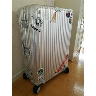 リモワ(RIMOWA)のRIMOWA スーツケース 82L トパーズ(トラベルバッグ/スーツケース)