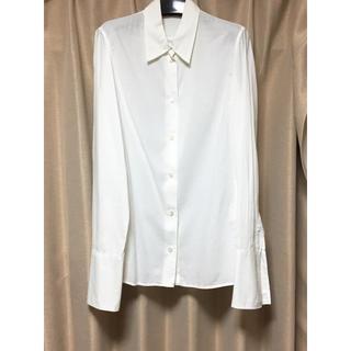 アンドゥムルメステール(Ann Demeulemeester)のAnn Demeulemeester cotton shirt(シャツ/ブラウス(長袖/七分))