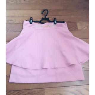 ピンキーガールズ(PinkyGirls)のピンキーガールズペプラムスカート(ミニスカート)