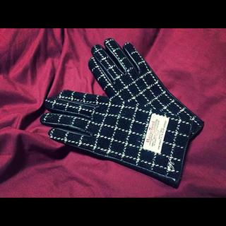 ハリスツイード(Harris Tweed)のハリスツイード手袋(手袋)