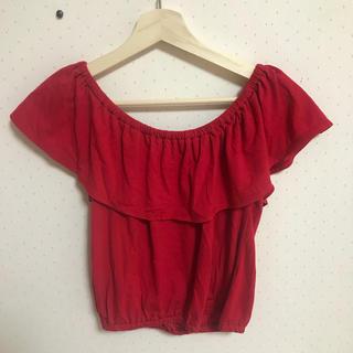 スライ(SLY)のSLY 2wayカットソー(Tシャツ(半袖/袖なし))