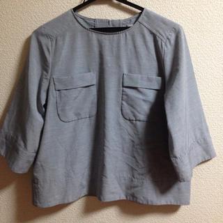 アミウ(AMIW)のAMIW プルオーバー 水色(シャツ/ブラウス(半袖/袖なし))