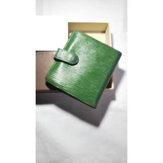 ルイヴィトン(LOUIS VUITTON)の★ルイヴィトン エピ グリーン がま口財布★ 1454(財布)