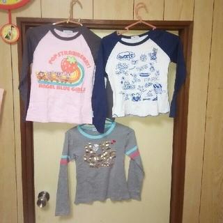 エンジェルブルー(angelblue)のエンジェルブルーロンT3枚セット(Tシャツ/カットソー)