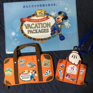 ディズニー(Disney)のディズニーリゾート35周年記念デザインセット(ノベルティグッズ)