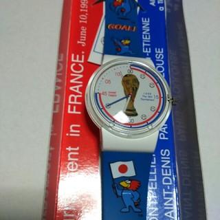 ワールドカップル1998年 記念腕時計(記念品/関連グッズ)