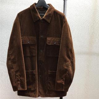 Used velour corduroy jacket (カバーオール)
