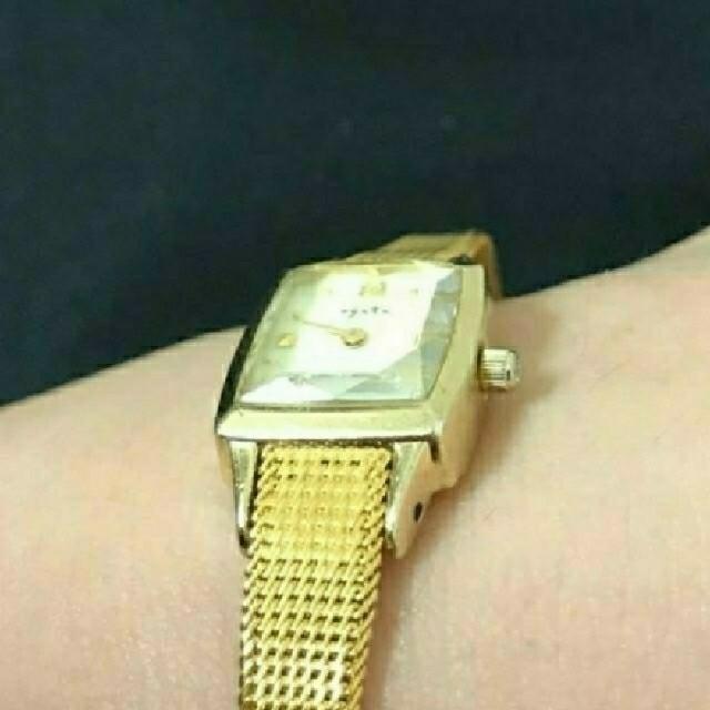 agete(アガット)のagete♥️イエローゴールド レディースのファッション小物(腕時計)の商品写真