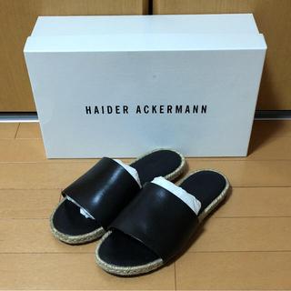 ハイダーアッカーマン(Haider Ackermann)のhaider ackermann shoes(サンダル)