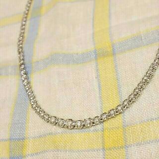 ジュエリーツツミ(JEWELRY TSUTSUMI)のジュエリーツツミ K14WG ダイヤモンドテニスネックレス(ネックレス)