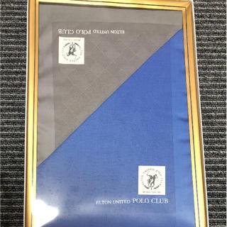 ポロクラブ(Polo Club)のELTON UNITED POLO CLUB ハンカチ2枚セット(ハンカチ/ポケットチーフ)