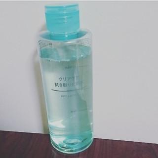 ムジルシリョウヒン(MUJI (無印良品))のクリアケア 拭き取り化粧水(化粧水 / ローション)