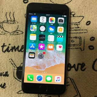 美品 docomo iPhone6 128GB スペースグレー